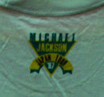 Michael Jackson Japan Tour 87 (Back)