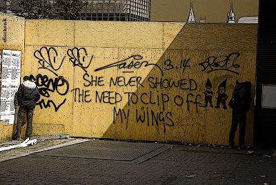 fertilizing graffiti, laser 314