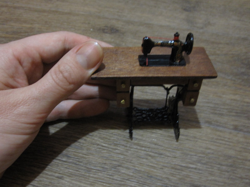 Швейная машинка для кукол своими руками 594