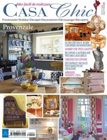 riviste specializzate - shabby chic interiors - Casa Chic Rivista