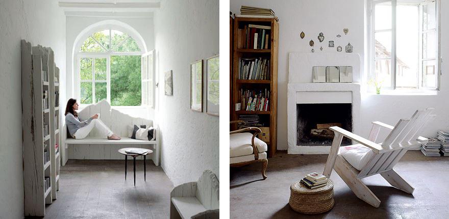Dimore di carattere shabby chic interiors - Davanzali interni ...