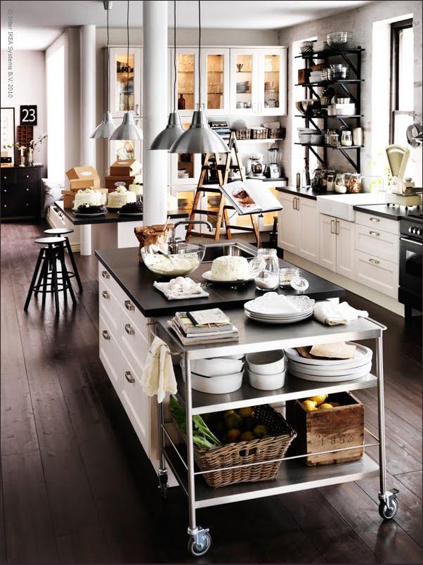 i ♥ ikea - shabby chic interiors - Cucina E Soggiorno Insieme Ikea