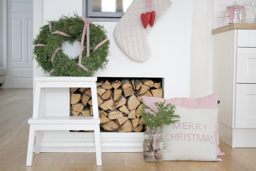Natale in norvegia }   shabby chic interiors