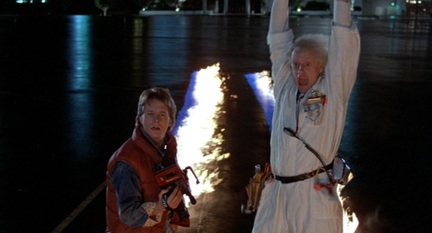 back to the future essay One of the running gags in back to the future is the way the town has changed in 30 years (for example, the porno house of 1985 was playing a ronald reagan movie in 1955) but a lot of the differences run more deeply than that, as marty discovers when he sits down at a lunch counter next to his dad - who is, of course, a teenager himself.