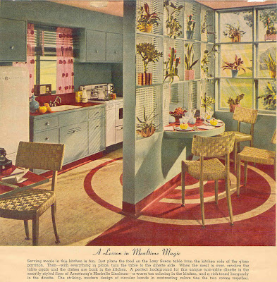 Linoleum flooring carpets and vintage on pinterest for Vintage linoleum flooring