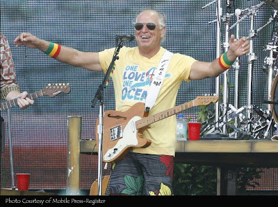 Jimmy Buffett · photo courtesy of Mobile Press-Register
