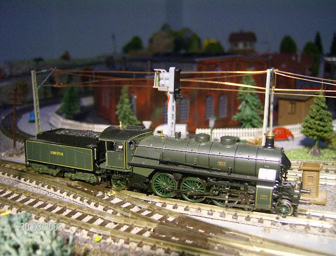 3644 locomotiva a vapor