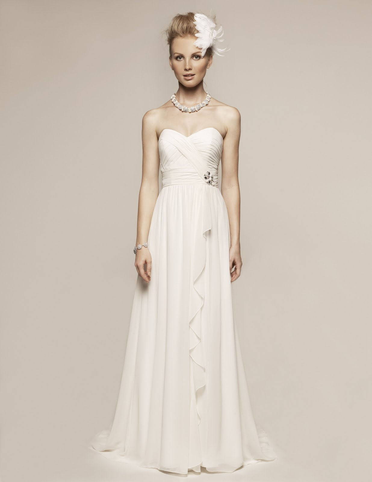 Destination Weddings Bridal Designer Offers New Options For The Modest Bride