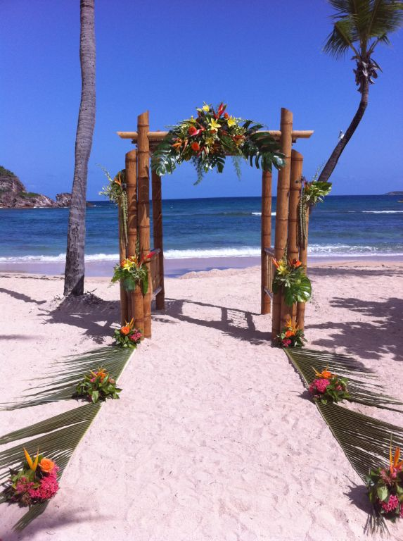 Upgrades are also available to allow each destination wedding couple to