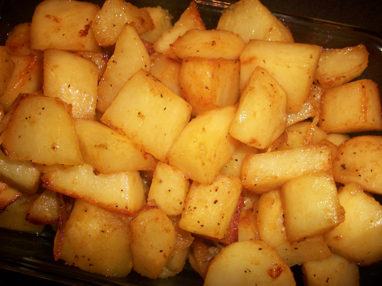 Honey Roasted Red Potatoes | Sandy's Kitchen