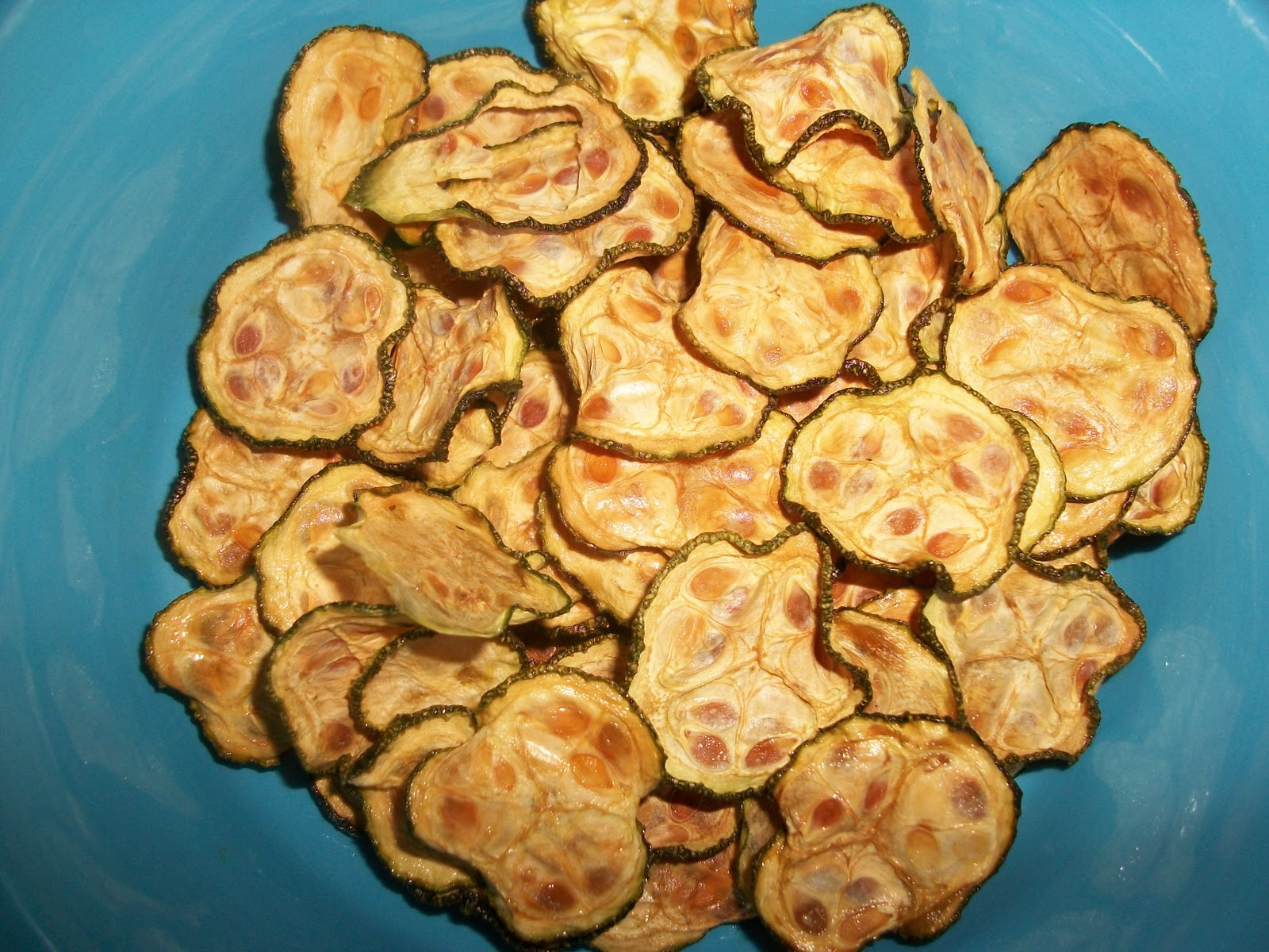 Crispy Zucchini Chips | Sandy's Kitchen