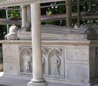 Tumba de Abelardo y Eloísa