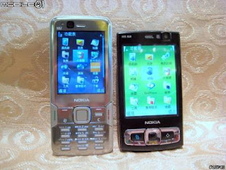 Tons of new Nokia N82 live pics