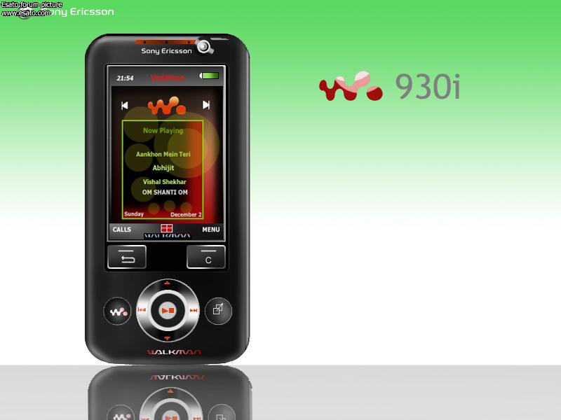 Sony Ericsson W930 and P5 concepts