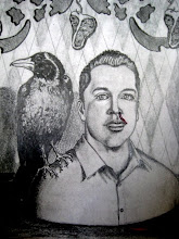 self portrait w/ crow