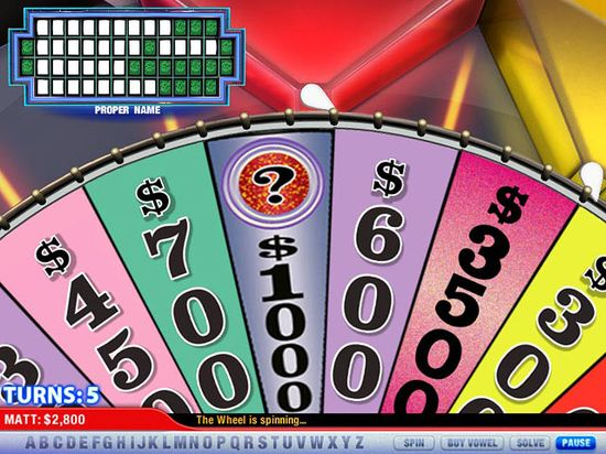 download free wheel of fortune games