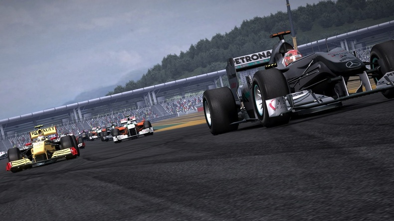 formula 1 2011 game. The first Formula One game to