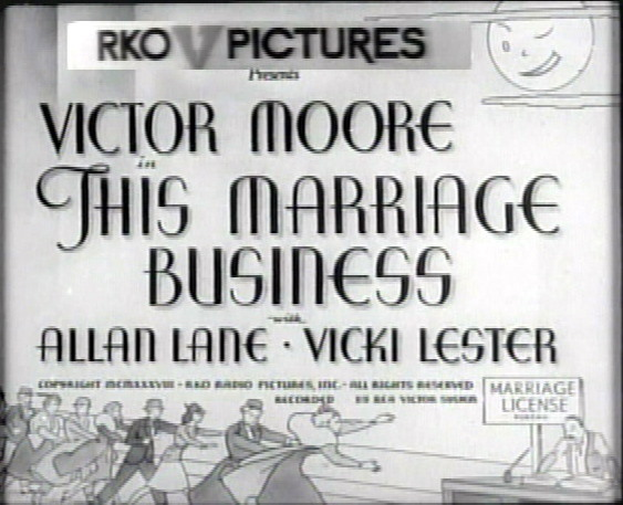 This Marriage Business movie