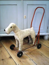 Vintage mohair terrier...