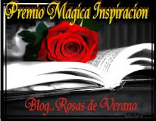 Premio magia inspiracion otorgado por Rosas de verano