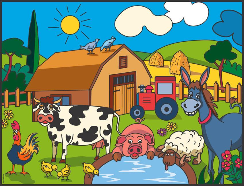 La emoci n del arte ilustraci n y pintura - Parador de la granja fotos ...