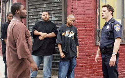 McNulty, Bodie y compañía en una esquina de Baltimore