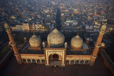 Delhi, Jama Masjid o Mezquita del viernes
