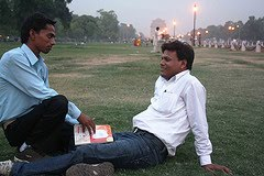 Let&#39;s be friends, India Gate maidan