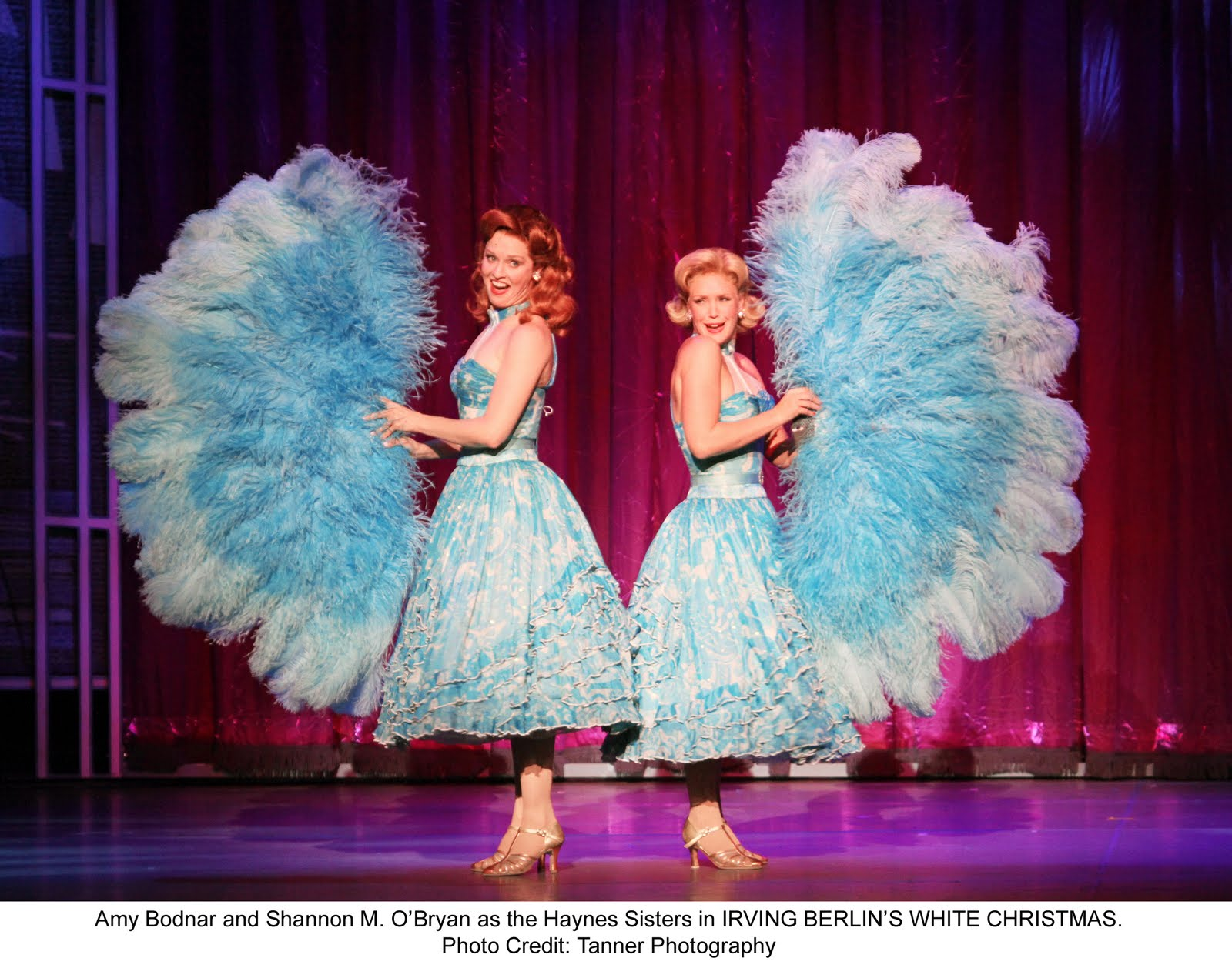 irving berlins white christmas the musical review - White Christmas Sisters