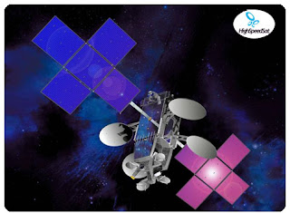 new viasat satellite - visat-1,,