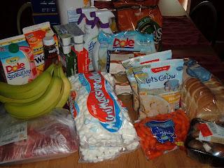Meijer Shopping Trip 04/30/2010