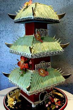 japanese traditional wedding cake house