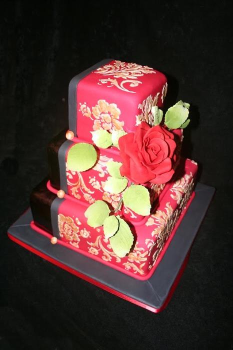 Kimono Wedding Cakes