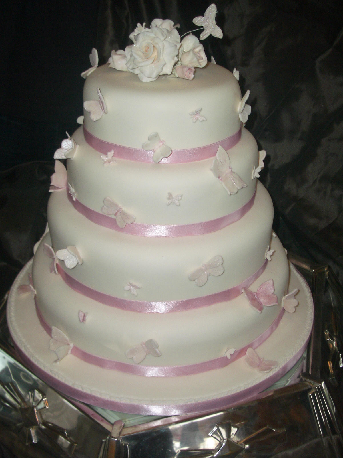 Gallery For Quinceanera Cakes With Butterflies