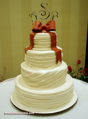 elegan wedding cake