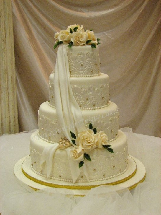 Pearl Cakes http://weddingaccessoriesideas.blogspot.com/2010/10/wedding-cake-decorated-with-pearls.html
