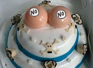 strange cake image