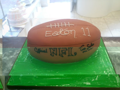 football wedding cake ideas