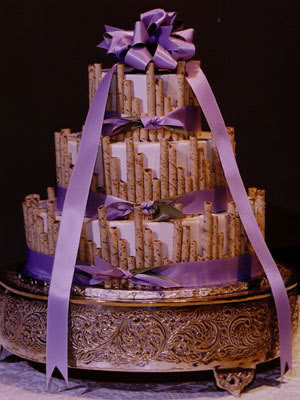 wedding cake flake