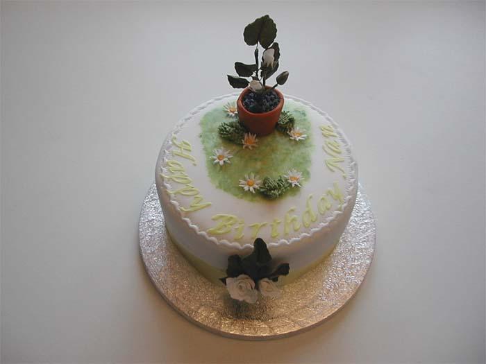 Unique Wedding Cakes Shaped Flower PotWedding