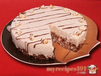 Popcorn Brithday Cakes
