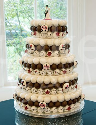 zombie wedding cake shaped balls