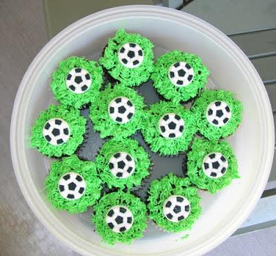 Soccer ball Cake decoration ideas