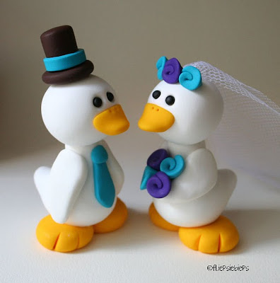 ducks wedding pict