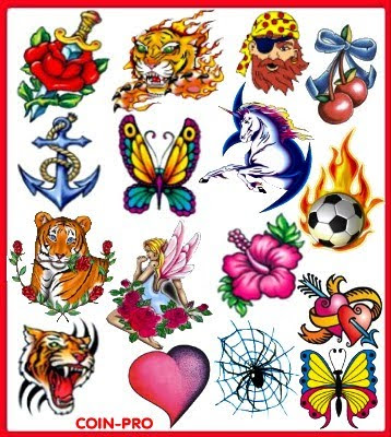 temporary tattoos design