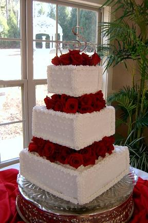 Homemade Wedding Cakes With Fresh FlowersWedding