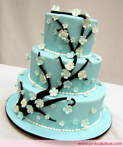 Unique Wedding Picture Ideas on Wedding Accessories Ideas  Blue Wedding Cake Ideas