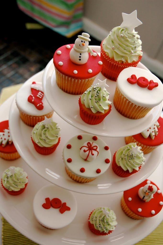 Christmas Cupcake Ideas : Wedding Accessories Ideas
