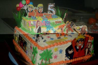 Naruto Cakes