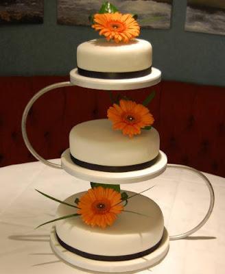 3 Tier Wedding Cakes